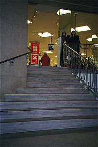 Bay staircase